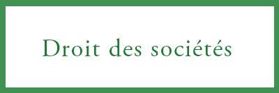 Droit Des Societes Mb Avocats